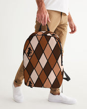 Load image into Gallery viewer, Dwayne Elliott Collection Brown Large Backpack - Dwayne Elliott Collection