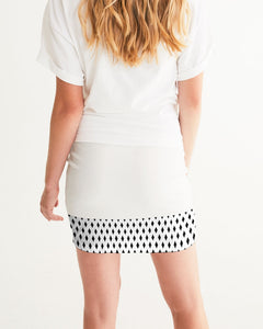 Dwayne Elliott Collection Black Diamond Women's Mini Skirt - Dwayne Elliott Collection