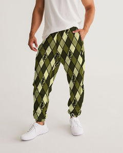 Dwayne Elliott Design Men's Argyle Track Pants - Dwayne Elliott Collection