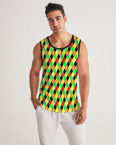 Dwayne Elliott Colection RBG Men's Sport Tank - Dwayne Elliott Collection