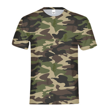 Laden Sie das Bild in den Galerie-Viewer, Dwayne Elliott Collection Camo Kids Tee - Dwayne Elliott Collection