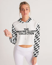 Load image into Gallery viewer, Dwayne Elliott Collection Women's Cropped Hoodie - Dwayne Elliott Collection