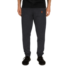 Load image into Gallery viewer, Dwayne Elliott Collection Unisex Joggers - Orange Embroidered Seahorse Logo - Dwayne Elliott Collection