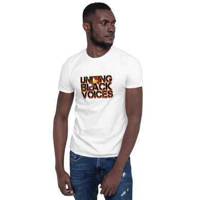 Uniting Black Voices Short-Sleeve Unisex T-Shirt
