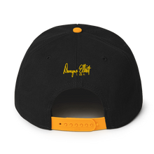Load image into Gallery viewer, Dwayne Elliott Collection Snapback Hat - Yellow Seahorse Logo - Dwayne Elliott Collection