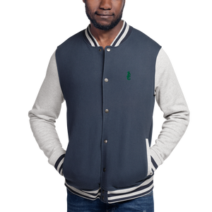 Dwayne Elliott Collection Embroidered Champion Bomber Jacket - Kelly Green Logo - Dwayne Elliott Collection