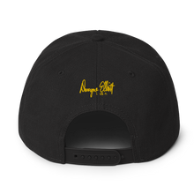 Laden Sie das Bild in den Galerie-Viewer, Dwayne Elliott Collection Snapback Hat - Yellow Seahorse Logo - Dwayne Elliott Collection