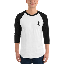 Load image into Gallery viewer, Dwayne Elliott Collection 3/4 sleeve raglan shirt - Dwayne Elliott Collection