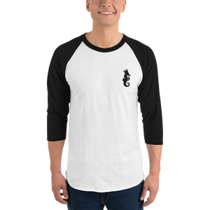 Dwayne Elliott Collection 3/4 sleeve raglan shirt - Dwayne Elliott Collection
