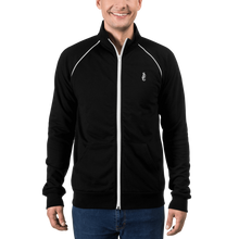 Laden Sie das Bild in den Galerie-Viewer, Dwayne Elliott Collection Piped Fleece Jacket - Dwayne Elliott Collection