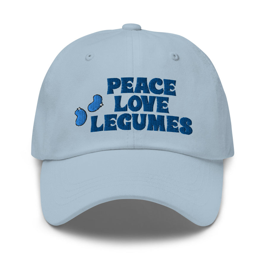Peace, Love Legumes Hat - Light