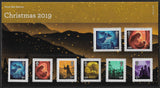 Christmas 2019 u/m mnh stamp presentation pack