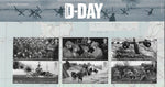 D-Day 75th Anniversary u/m mnh stamp and miniature sheet combined presentation pack