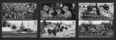 D-Day 75th Anniversary u/m mnh stamp set