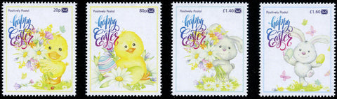 2020 Positively Postal Easter Artistamps x 4