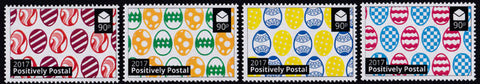 2017 Positively Postal Easter Artistamps x 4