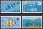 2016 Positively Postal Fish Artistamps x 4