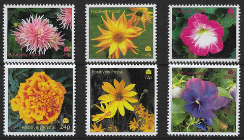 2019 Positively Postal Flowers Artistamps x 6