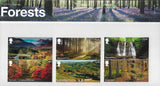 Forests u/m mnh stamp presentation pack