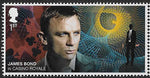 2020 James Bond u/m mnh stamp set