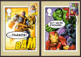 2019 Marvel stamp PHQ cards x 15 First Day of Issue on front.