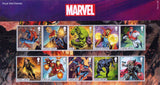 Marvel u/m stamp miniature sheet