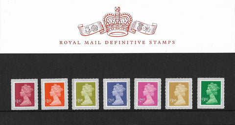 2020 New Tariff Royal Mail Security u/m mnh machin definitive stamp presentation pack