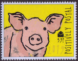 2019 Positively Postal Year of The Pig Artistamps x 4