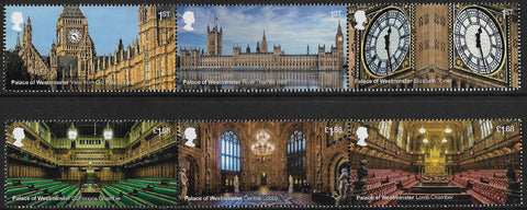 2020 Palace of Westminster u/m mnh stamp set