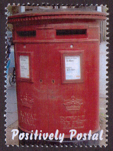 2014 Positively Postal Double Postbox with two Apertures Artistamp