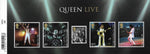 2020 Queen Live u/m mnh stamp miniature sheet