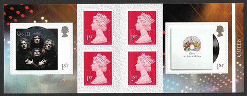 2020 Queen u/m stamp booklet 6 x 1st class