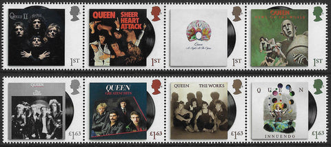 2020 Queen u/m mnh stamp set