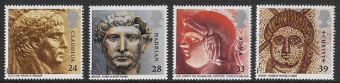 GB 1993 Roman Britain u/m mnh stamps