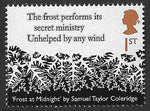 2020 Romantic Poets u/m mnh stamp presentation pack
