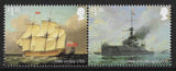 Royal Navy Ships u/m mnh stamp set