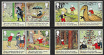 2020 Rupert Bear u/m mnh stamp set