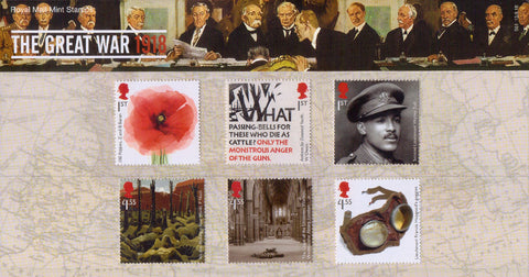 The First World War - 1917 Presentation Pack
