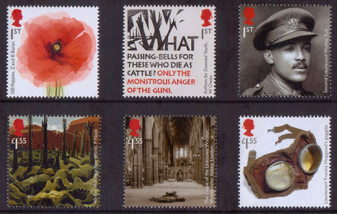 The First World War 1918 Mint Stamps