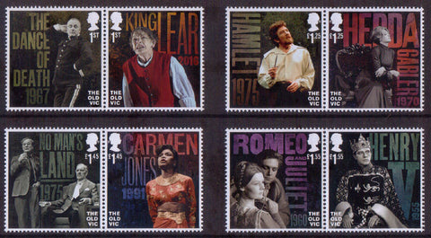 The Old Vic Mint Stamp Set