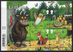 The Gruffalo u/m mnh stamp miniature sheet