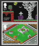 2020 Video Games u/m mnh stamp set