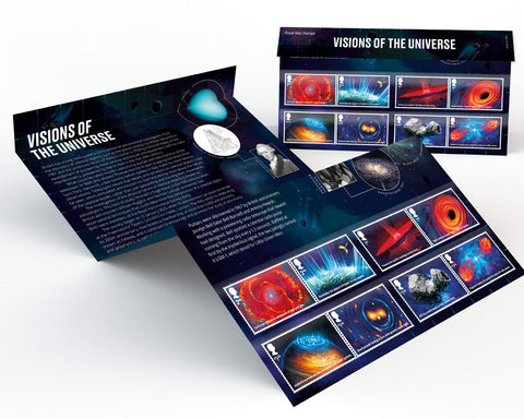 2020 Visions of the Universe u/m mnh stamp presentation pack
