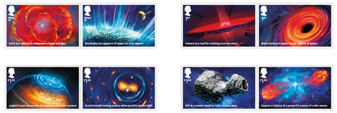 2020 Visions of the Universe u/m mnh stamp set