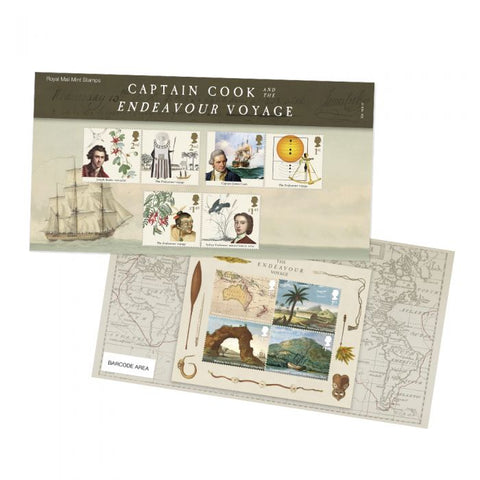 Captain Cook Presentation Pack