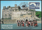 GB 2005 50th Anniversary of First Castle Definitives stamp maxi card Edinburgh Castle