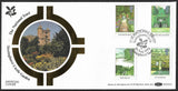 GB 1983 British Gardens The National Trust Benham First Day Cover
