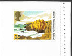 GB 1994 Giant's Causeway Northern Ireland mint postal stationery card with 35p stamp