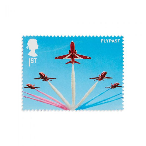 RAF Centenary Red Arrows Miniature Sheet