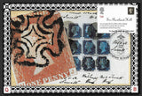 GB 2004 Royal Society of Arts 1st class Penny Black stamp maxi card